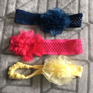 GYMBOREE Girls Flower Head Bands